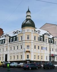 Дом на углу ул. Рымарской в г. Харьков