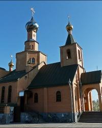 Свято-Николаевский храм в пос.Циркуны