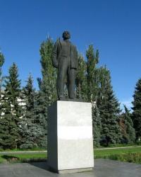 Памятник В.И. Ленину в г. Изюм