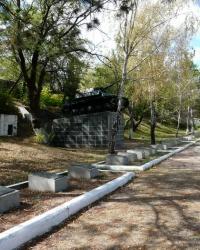 Кладбище советских воинов в г. Бахчисарай