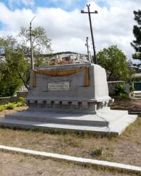 Братская могила бойцов Бахчисарайского красногвардейского отряда
