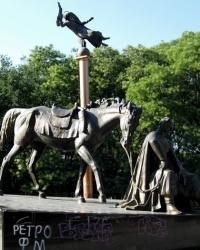 Памятник атаману Антону Головатому в г. Одесса
