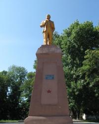 Памятник В.И.Ленину в г. Ахтырка