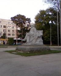 Загадочный памятник Ленину возле Симферопольского вокзала