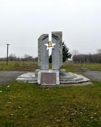 Памятник жертвам Чернобыльской трагедии в г. Перещепино
