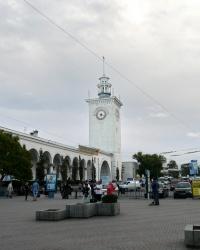 Железнодорожный вокзал в г. Симферополь