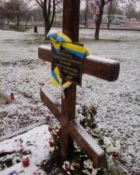 Мемориал жертвам Голодомора в Харькове