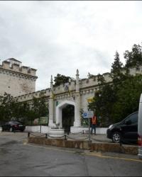 Замок князя Л. С. Голицына в п. Новый Свет