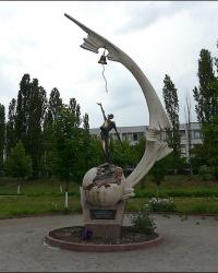 Памятник героям Чернобыля на Северной Салтовке в г. Харьков