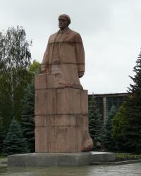 Памятник Ленину в г.Лозовая