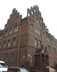 Львовская юридическая гимназия на ул. Леонтовича 2 в г. Львов