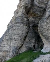 Скіфський мис і печера Зміїна