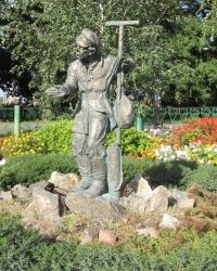 Пам'ятник копачеві Банавентурі