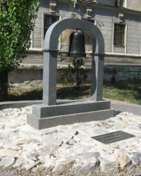 Памятник ликвидаторам аварии на ЧАЭС в Докучаевске