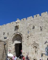 Сионские ворота Иерусалима