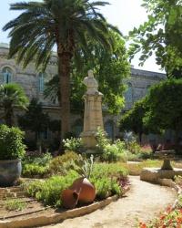 Памятник Шарлю Лавижери в Иерусалиме