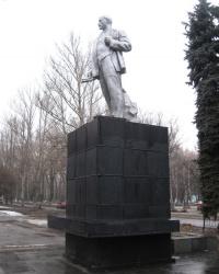 Памятник В.И.Ленину на поселке Черемушки в Макеевке