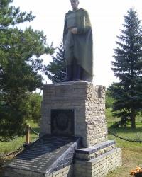 Воинский мемориал в селе Белокузьминовка