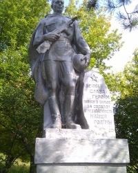 Воинский мемориал в селе Сидорово
