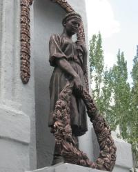 Братская могила партизан и подпольщиков в г.Стаханов