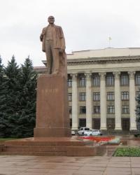 Пам'ятник В. І. Леніну в Житомирі