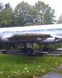 Самолёт «Ту-104» в ПКО им. Ю.Гагарина в Житомире