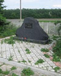Памятный знак в память о жертвах голодомора в Волновахе