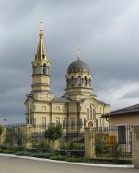 Свято-Михайловский храм в поселке Широкий, г. Донецк