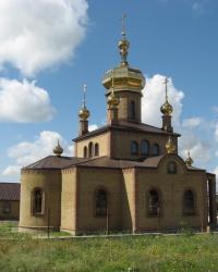 Сергиевский храм в Углегорске