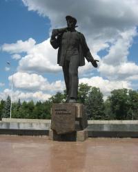 Памятник А.Г. Стаханову в городе Стаханов