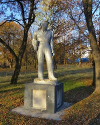 Скульптура матроса в Миусинске