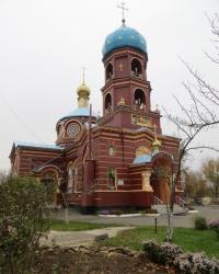 Свято-Екатерининская церковь в городе Счастье