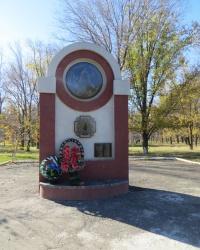 """Памятник """"Жертвам Чернобыльской трагедии"""" в Красном Луче"""