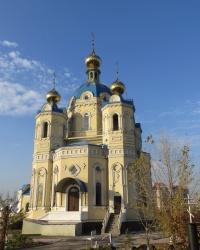 Храм Святого Александра Невского в Луганске