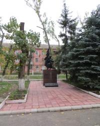 Памятник воинам - жителям города Счастье, погибшим в годы ВОв