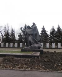 Памятник металлургам Алчевска, погибшим в годы ВОВ