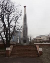 Обелиск в честь освободителей Алчевска