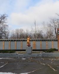 Воинский мемориал в поселке Нелеповка