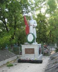 """Братская могила на кладбище """"Орджоникидзе"""" в Макеевке"""