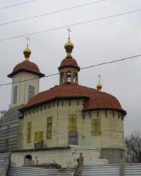Храм в честь Собора новомучеников и исповедников Российских в Донецке
