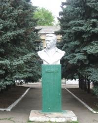 Памятник Чкалову в селе Нетайлово