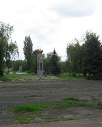 Мемориал воинам-героям села Галицыновки, погибшим в ВОВ