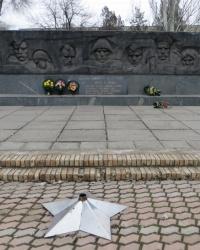 Братская могила в Новониколаевке
