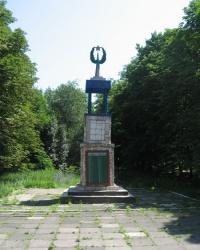 Памятник шахтерам-лидиевцам, погибшим в годы Великой Отечественной войны