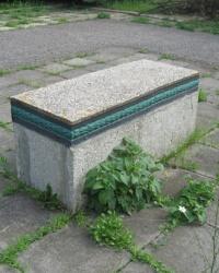 Памятник погибшим в годы ВОВ на кладбище г.Волноваха