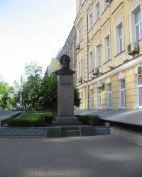 Памятник-бюст М.П.Драгоманову в Киеве