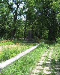 Братская могила воинов-освободителей Нижней Крынки