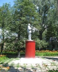 """Памятник Ленину в поселке """"Ханжонково"""""""