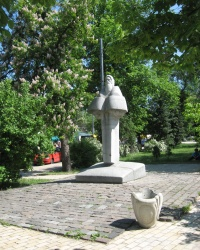 Памятник Нестору Летописцу в Киеве