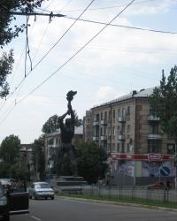 """Памятник """"Труженику Луганщины"""""""